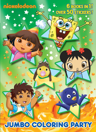 Jumbo Coloring Party (Nick Jr.) by Golden Books