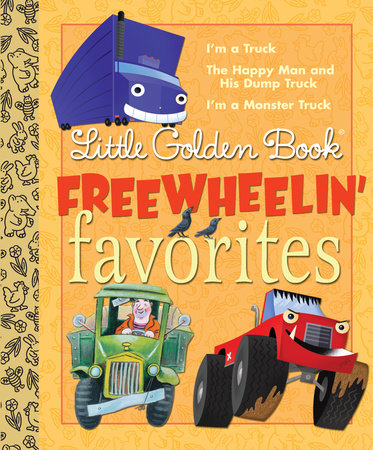 Little Golden Books Freewheelin' Favorites by Dennis R. Shealy and Miryam