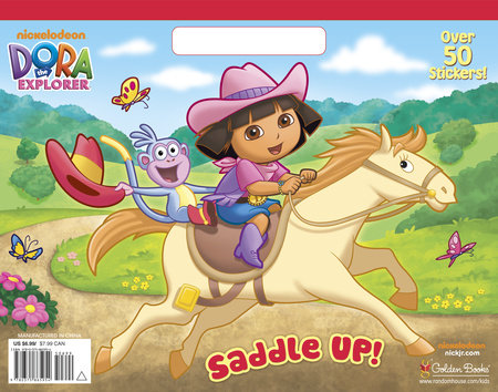 Saddle Up! (Dora the Explorer) by Golden Books