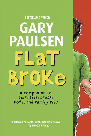Flat Broke by Gary Paulsen