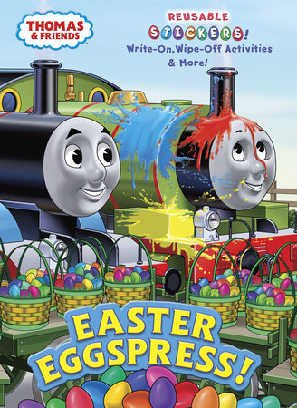 Easter Eggspress! (Thomas & Friends) by Golden Books