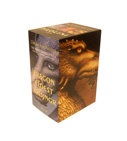 Inheritance Cycle 3-Book Trade Paperback Boxed Set (Eragon, Eldest, Brisingr) by Christopher Paolini