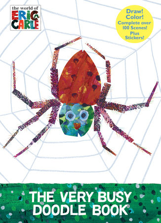 The Very Busy Doodle Book (The World of Eric Carle) by Eric Carle