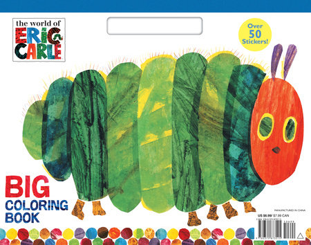 The World of Eric Carle Big Coloring Book (The World of Eric Carle) by Eric Carle