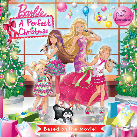 A Perfect Christmas Pictureback (Barbie) by Mary Tillworth