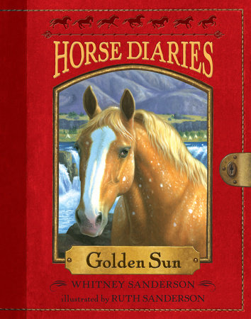 Horse Diaries #5: Golden Sun by Whitney Sanderson