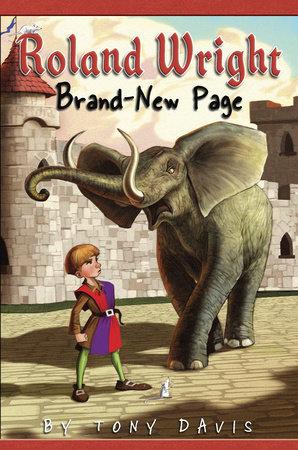 Roland  Wright: Brand-New Page by Tony Davis