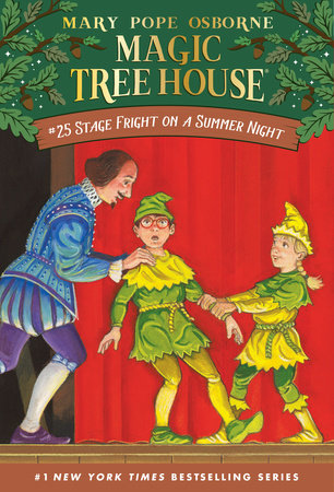 Stage Fright on a Summer Night by Mary Pope Osborne