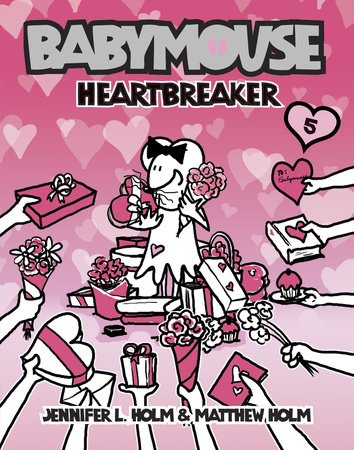 Babymouse #5: Heartbreaker by Jennifer L. Holm and Matthew Holm