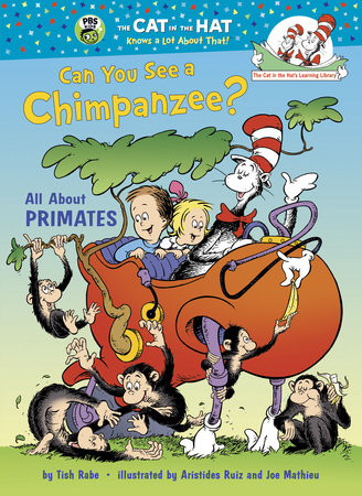 Can You See a Chimpanzee? by Tish Rabe