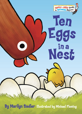 Ten Eggs in a Nest by Marilyn Sadler