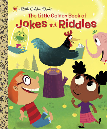 The Little Golden Book of Jokes and Riddles by Peggy Brown