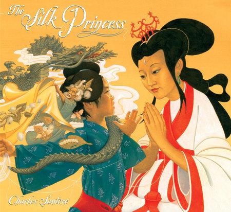 The Silk Princess by Charles Santore