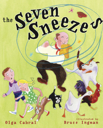 The Seven Sneezes by Golden Books