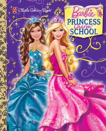 Princess Charm School (Barbie): Read & Listen Edition by Mary Tillworth