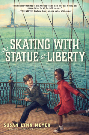 Skating with the Statue of Liberty by Susan Lynn Meyer
