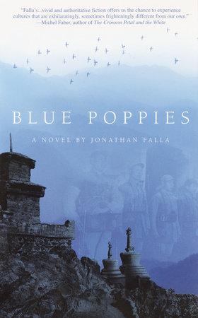 Blue Poppies by Jonathan Falla