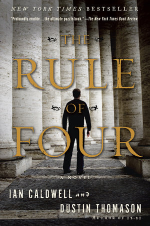 The cover of the book The Rule of Four