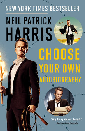 Neil Patrick Harris: Choose Your Own Autobiography Book Cover Picture