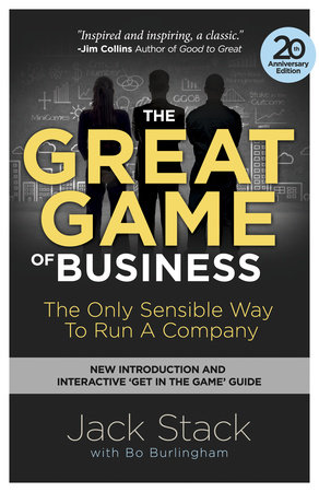 The Great Game of Business, Expanded and Updated by Jack Stack and Bo Burlingham