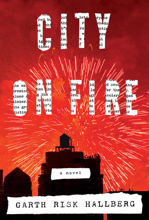 City on Fire Book Cover Picture