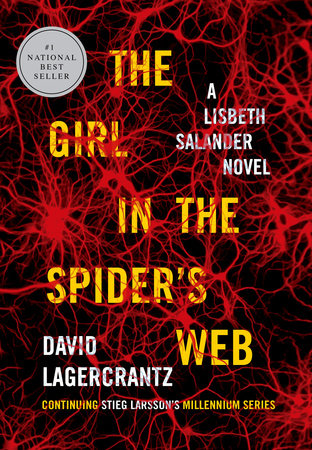 The Girl in the Spider's Web Book Cover Picture