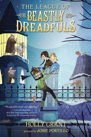 The League of Beastly Dreadfuls Book 1