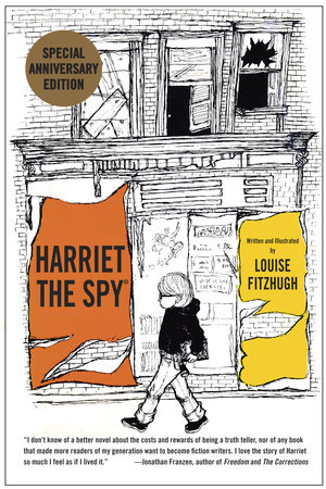 Harriet the Spy: 50th Anniversary Edition Book Cover Picture