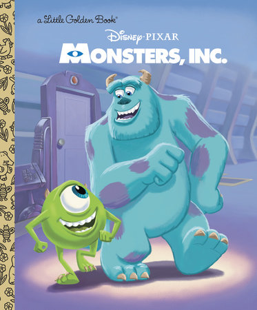 Monsters, Inc. Little Golden Book (Disney/Pixar Monsters, Inc.) by RH Disney