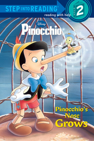 Pinocchio's Nose Grows (Disney Pinocchio) by Barbara Gaines Winkelman