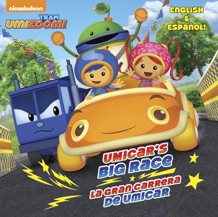 UmiCar's Big Race/La gran carrera de UmiCar (Team Umizoomi) by Yuliana Gomez