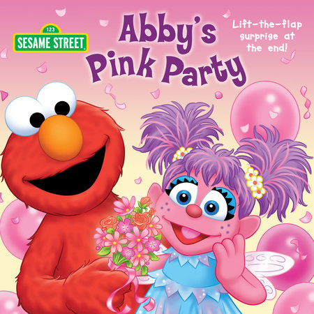 Abby's Pink Party (Sesame Street) by Naomi Kleinberg