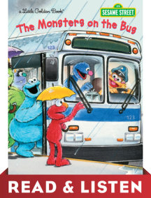 The Monsters on the Bus (Sesame Street): Read & Listen Edition