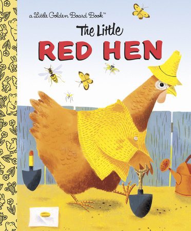The Little Red Hen by Golden Books