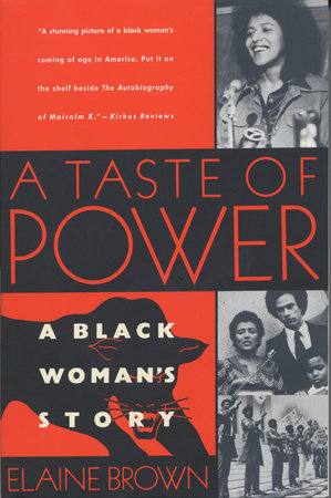 A TASTE OF POWER by Elaine Brown