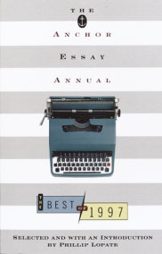 The Anchor Essay Annual