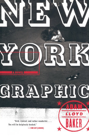 New York Graphic by Adam Lloyd Baker