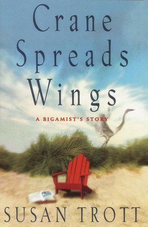 Crane Spread Wings by Susan Trott