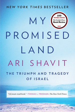 The cover of the book My Promised Land