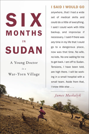 The cover of the book Six Months in Sudan