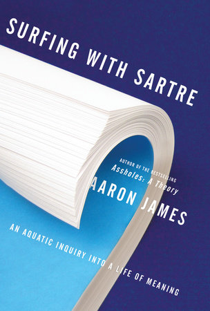 The cover of the book Surfing with Sartre