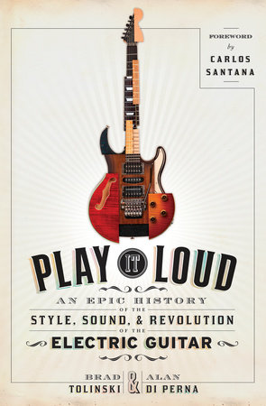 The cover of the book Play It Loud