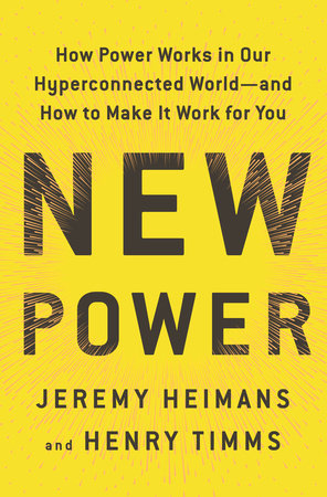 The cover of the book New Power