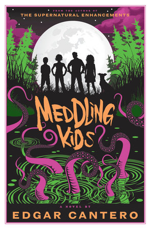 The cover of the book Meddling Kids
