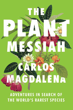 The cover of the book The Plant Messiah