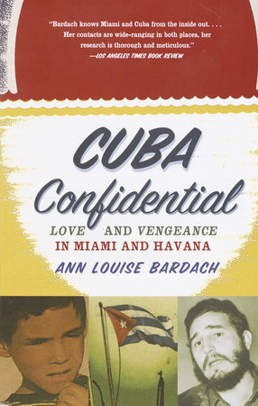 The cover of the book Cuba Confidential