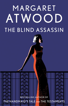 The cover of the book The Blind Assassin