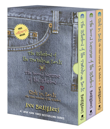 The Sisterhood of the Traveling Pants--3-book boxed set by Ann Brashares