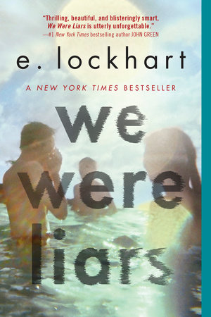 The cover of the book We Were Liars