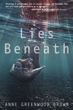 The cover of the book Lies Beneath
